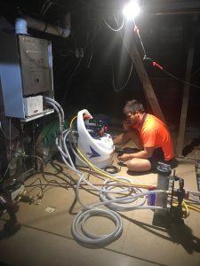 selected-power flush service